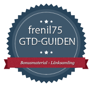 GTD-guiden - 11 - Bonusmaterial - Länksamling